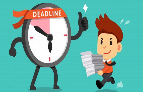 Deadline là gì? Làm sao để vượt qua được áp lực từ deadline?