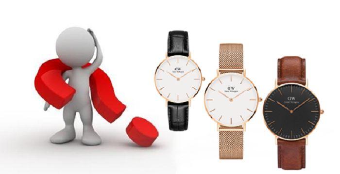 Một vài lưu ý không thể bỏ qua để chọn đồng hồ DW giá rẻ TPHCM