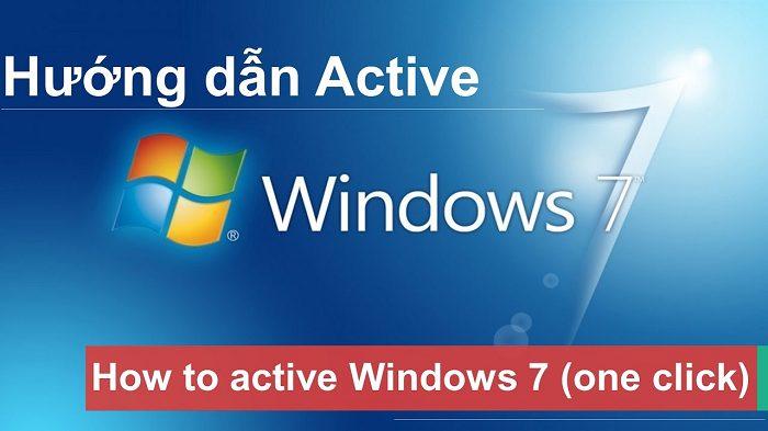 Hướng dẫn cách active win 7 bằng phần mềm crack thành công 100%