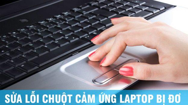 Chuột cảm ứng laptop dell bị đơ không di chuyển được
