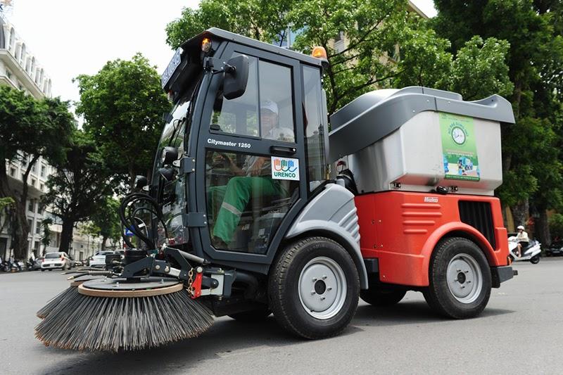 Đặng Gia - Địa chỉ tin cậy số 1 chọn mua xe quét rác công nghiệp