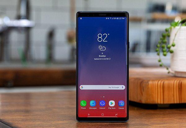 Màn hình Samsung Note 9 bị sọc ngang khắc phục thế nào