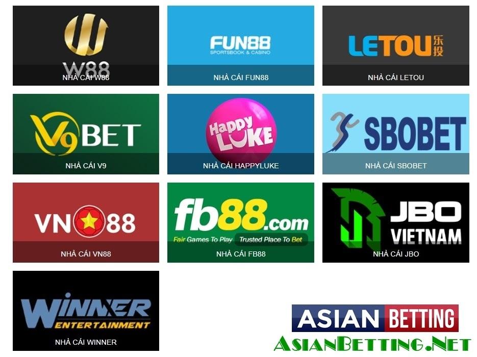 Đánh giá hệ thống Asian Betting Net