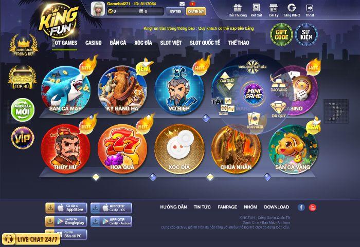 Top 5 website chơi nổ hũ online uy tín, chất lượng