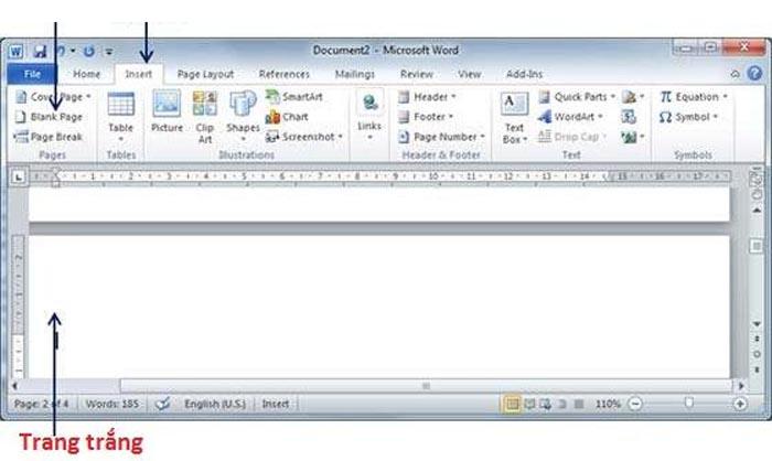Hướng dẫn cách thêm trang trong Word đơn giản và nhanh nhất